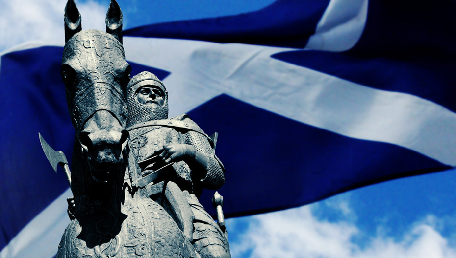Robert the Bruce as he is remembered now